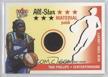 2003 Fleer Ultra WNBA All-Star Material Patch #2 - Tari Phillips /100
