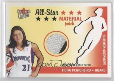 2003 Fleer Ultra WNBA All-Star Material #ASP-TP - Ticha Penicheiro