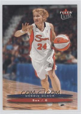 2003 Fleer Ultra WNBA #72 - Debbie Black