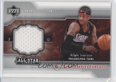 2004-05 All-Star Lineup All-Star Staples Threads #STT-AI - Allen Iverson