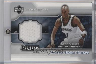 2004-05 All-Star Lineup All-Star Staples Threads #STT-KG - Kevin Garnett