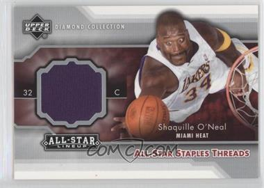 2004-05 All-Star Lineup All-Star Staples Threads #STT-SO - Shaquille O'Neal
