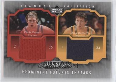 2004-05 All-Star Lineup Prominent Futures Threads #PFT-KD - Chris Kaman, Mike Dunleavy Sr.