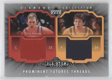 2004-05 All-Star Lineup Prominent Futures Threads #PFT-KD - Chris Kaman, Mike Dunleavy