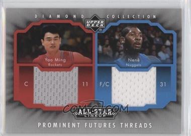 2004-05 All-Star Lineup Prominent Futures Threads #PFT-MN - Yao Ming, Nenê