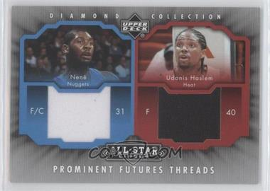 2004-05 All-Star Lineup Prominent Futures Threads #PFT-NH - Nenê, Udonis Haslem