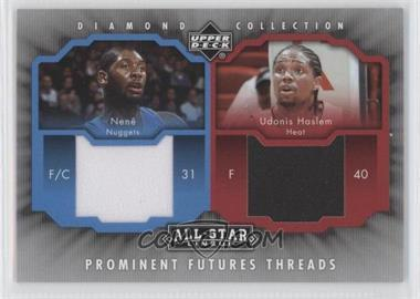2004-05 All-Star Lineup Prominent Futures Threads #PFT-NH - Udonis Haslem, Nenê