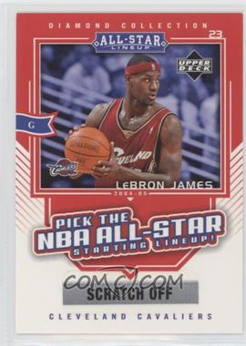 2004-05 All-Star Lineup Promo Cards #AS2 - Lebron James