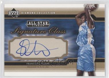 2004-05 All-Star Lineup Signature Class #SC-FE - Francisco Elson