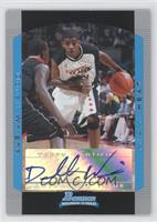 Rookie Autograph - Dorell Wright
