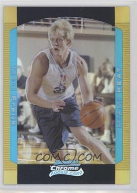 2004-05 Bowman Draft Picks & Prospects - Chrome - Gold Refractor #114 - Matt Freije /50