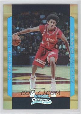 2004-05 Bowman Draft Picks & Prospects - Chrome - Gold Refractor #126 - Josh Childress /50