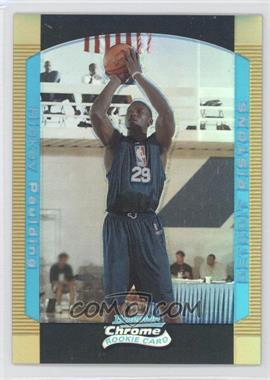 2004-05 Bowman Draft Picks & Prospects - Chrome - Gold Refractor #131 - Rickey Paulding /50
