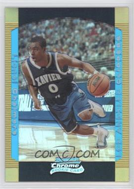 2004-05 Bowman Draft Picks & Prospects - Chrome - Gold Refractor #136 - Lionel Chalmers /50