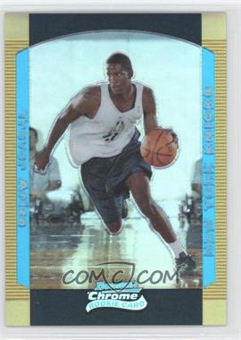 2004-05 Bowman Draft Picks & Prospects - Chrome - Gold Refractor #138 - Trevor Ariza /50