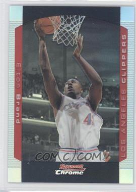 2004-05 Bowman Draft Picks & Prospects - Chrome - Refractor #20 - Elton Brand /300
