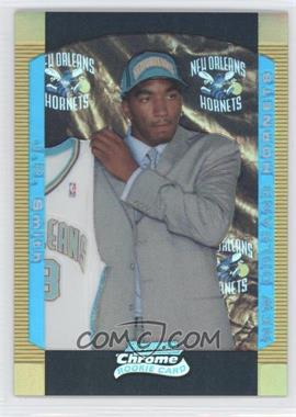 2004-05 Bowman Draft Picks & Prospects Chrome Gold Refractor #122 - J.R. Smith /50