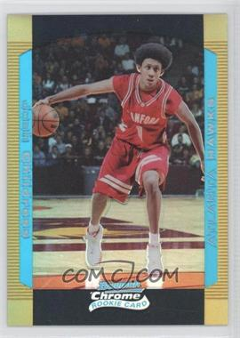 2004-05 Bowman Draft Picks & Prospects Chrome Gold Refractor #126 - Josh Childress /50
