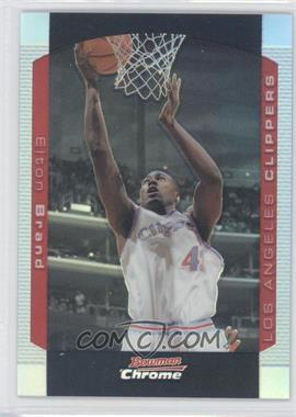 2004-05 Bowman Draft Picks & Prospects Chrome Refractor #20 - Elton Brand /300