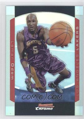 2004-05 Bowman Draft Picks & Prospects Chrome Refractor #77 - Lamar Odom /300