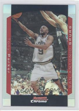 2004-05 Bowman Draft Picks & Prospects Chrome Refractor #9 - Tony Parker /300