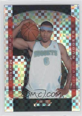 2004-05 Bowman Draft Picks & Prospects Chrome X-Fractor #18 - Kenyon Martin /150