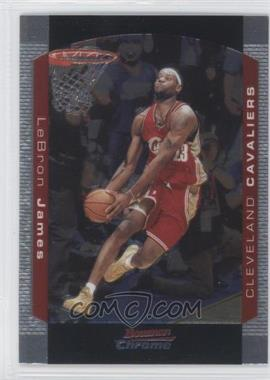 2004-05 Bowman Draft Picks & Prospects Chrome #23 - Lebron James