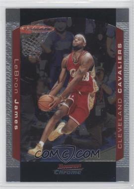 2004-05 Bowman Draft Picks & Prospects Chrome #23 - Lebron James