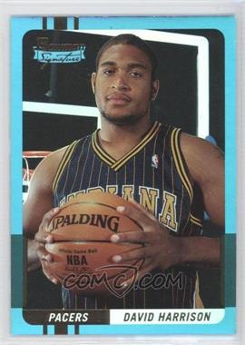 2004-05 Bowman Signature Foil #62 - David Harrison /50