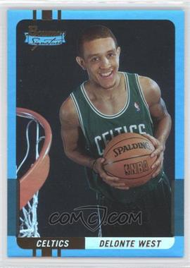 2004-05 Bowman Signature Foil #63 - Delonte West /50