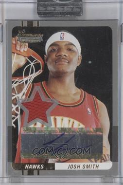 2004-05 Bowman Signature Silver 50 [Autographed] #71 - Josh Smith /50