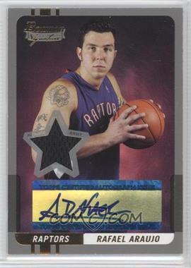 2004-05 Bowman Signature Silver 50 [Autographed] #78 - Rafael Araujo /50