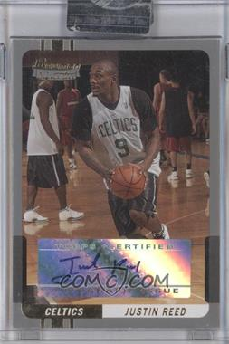 2004-05 Bowman Signature Silver 50 [Autographed] #91 - Justin Reed /50