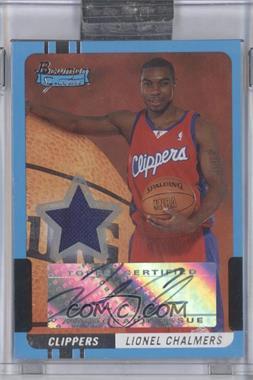 2004-05 Bowman Signature #75 - Lionel Chalmers /399