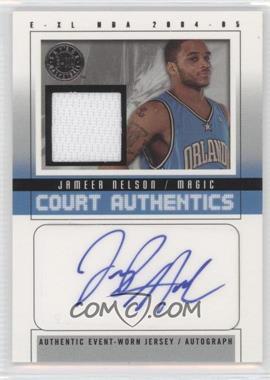 2004-05 E-XL - Court Authentics Autographs - Jerseys [Autographed] #CAA-JN - Jameer Nelson /70