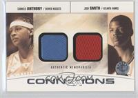 Carmelo Anthony, Josh Smith /22