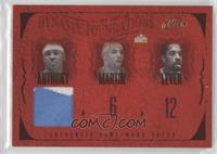 Carmelo Anthony, Kenyon Martin, Fat Lever, Alex English, Dan Issel /99