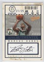 Marcus Banks /25