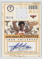 Josh Childress /15