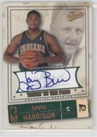 David Harrison, Larry Bird Autograph /25