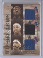 Ben Wallace, Rasheed Wallace, Richard Hamilton /75