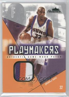 2004-05 Fleer Showcase Playmakers Jersey Green Patch #PM-AS - Amar'e Stoudemire /32