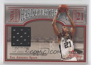 2004-05 Fleer Sweet Sigs Hardcourt Heroics Retail Jerseys #HH-TD - Tim Duncan