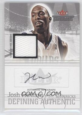 2004-05 Fleer Throwbacks - Defining Authentic - Silver Jersey Autographs #DAA-JH - Josh Howard /149