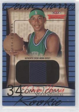 2004-05 Fleer Throwbacks #80 - Devin Harris /499