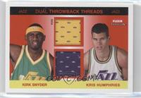 Kirk Snyder, Kris Humphries /75