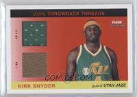 Kirk Snyder /50