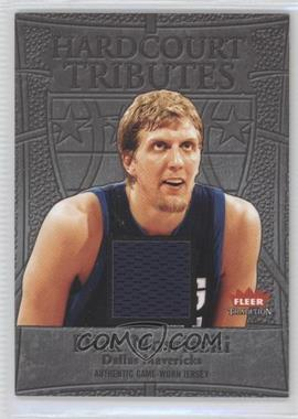 2004-05 Fleer Tradition Hardcourt Tributes Jerseys #HT/DN - Dirk Nowitzki