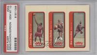 Luol Deng, Chris Duhon, Ben Gordon [PSA 10]
