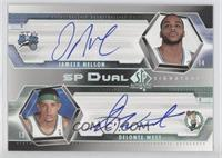 Delonte West, Jameer Nelson